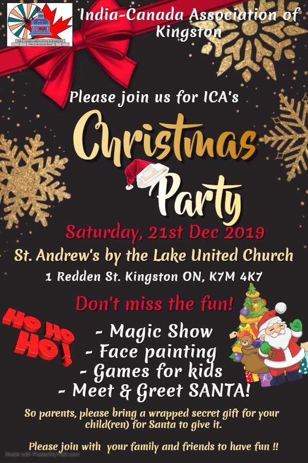 ICA Kingston's Christmas Party