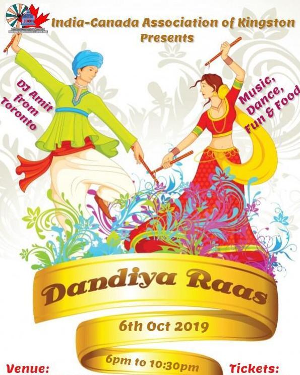 "ICA-Kingston Celebrates – ""Dandiya Night"""