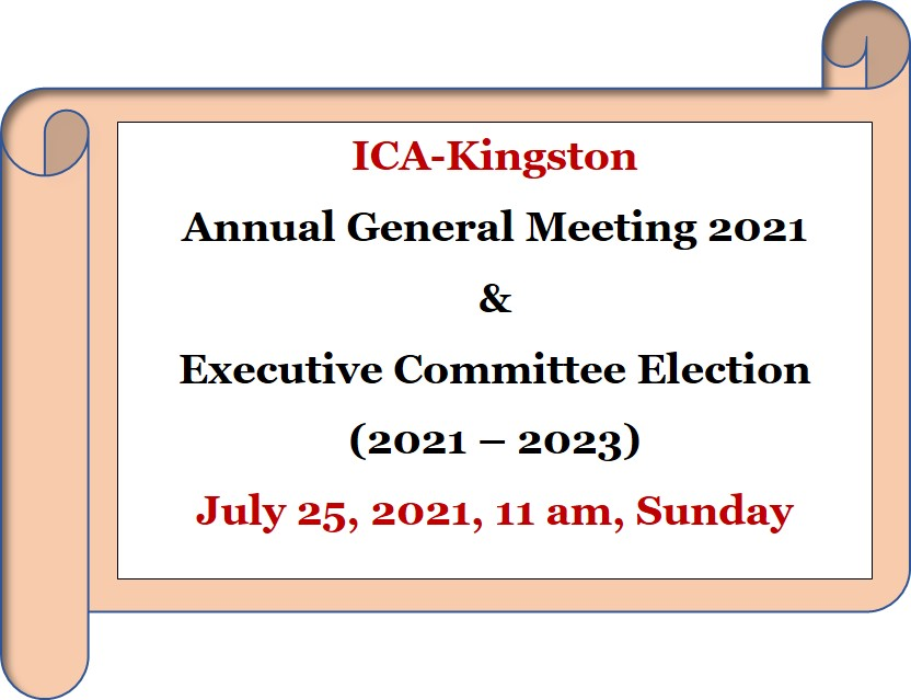AGM 2021 and Elections for Next Executive Committee 2021-2023 on Zoom